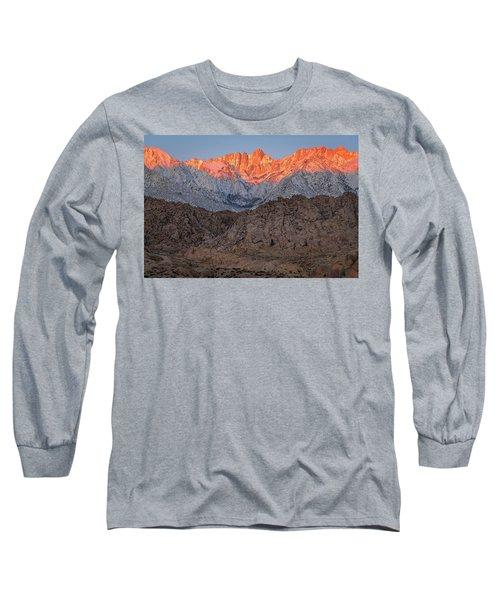 Good Morning Mount Whitney Long Sleeve T-Shirt