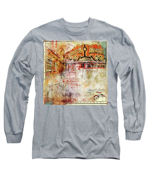 Goodbye Honest Eds II Long Sleeve T-Shirt by Nicky Jameson