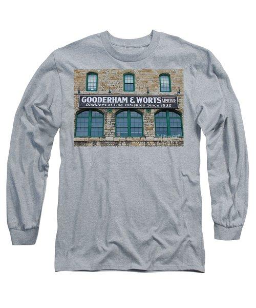 Gooderham And Worts Distillery Long Sleeve T-Shirt