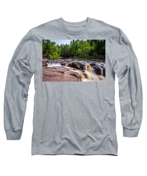 Goose Berry River Rapids Long Sleeve T-Shirt by Paul Freidlund