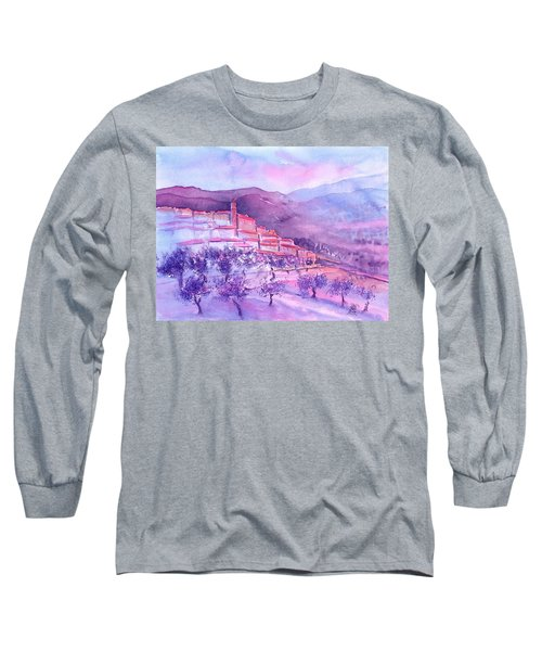 Gordes Provence France Long Sleeve T-Shirt