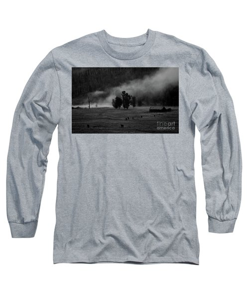 Gordon's Barn At Dawn Long Sleeve T-Shirt