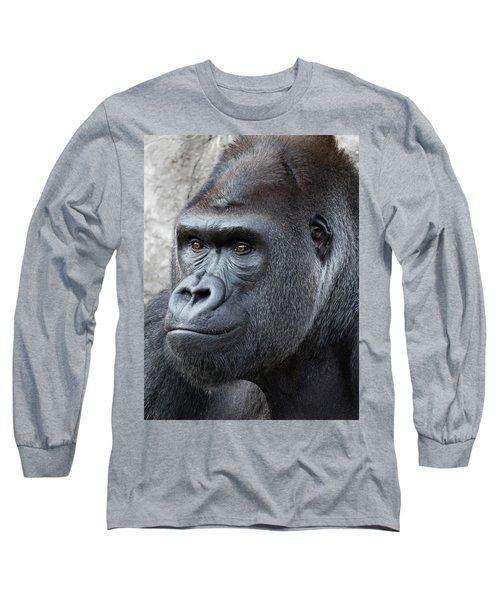 Gorillas In The Mist Long Sleeve T-Shirt