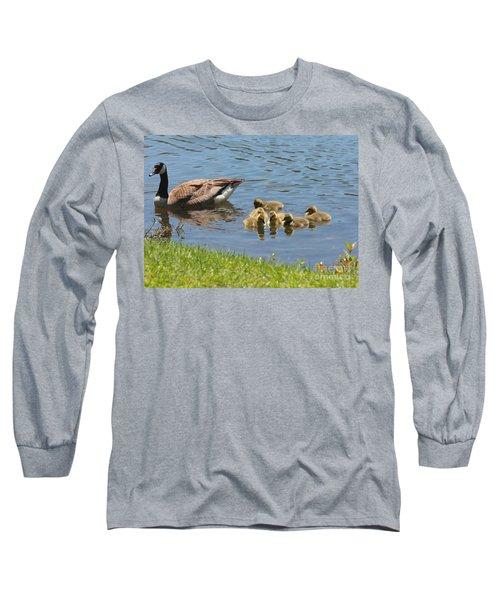Goslings Gathering Long Sleeve T-Shirt