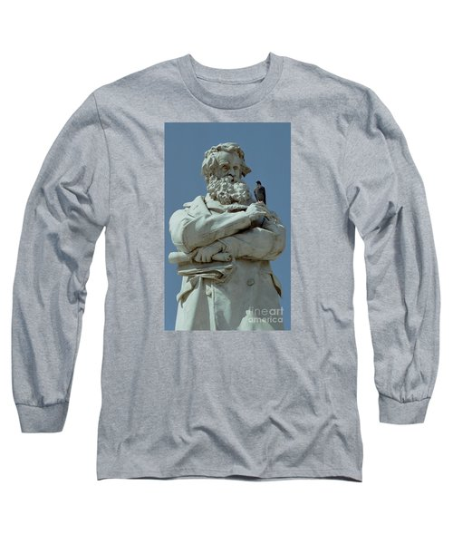 Long Sleeve T-Shirt featuring the photograph Gossip by Michael Swanson