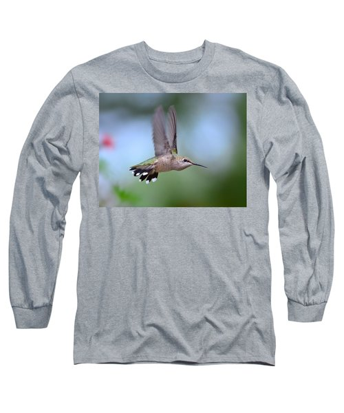 Gotta Go Long Sleeve T-Shirt by Kathy Eickenberg