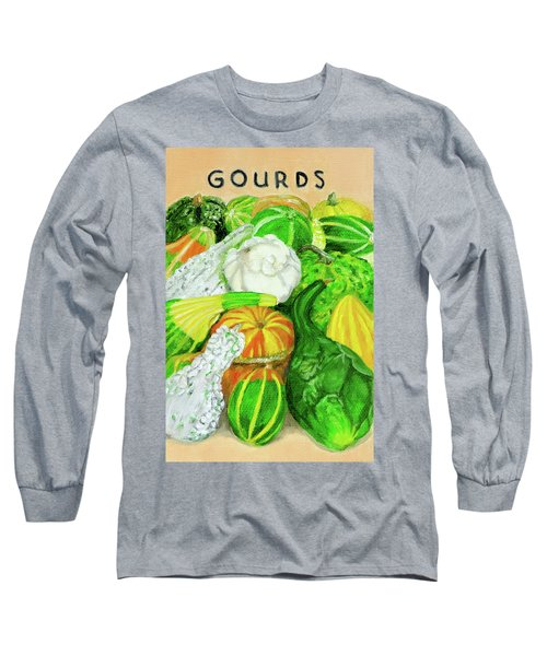 Gourd Seed Packet Long Sleeve T-Shirt