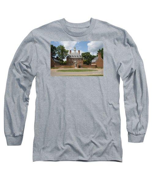 Governers Palace - Williamsburg Va Long Sleeve T-Shirt