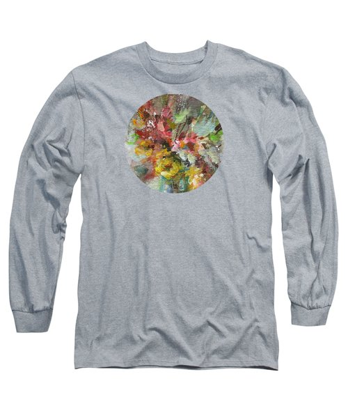 Long Sleeve T-Shirt featuring the painting Grace And Beauty by Mary Wolf