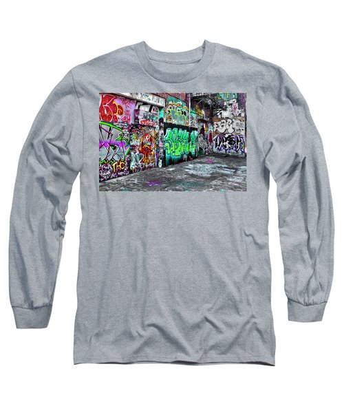 Graffiti Alley Long Sleeve T-Shirt