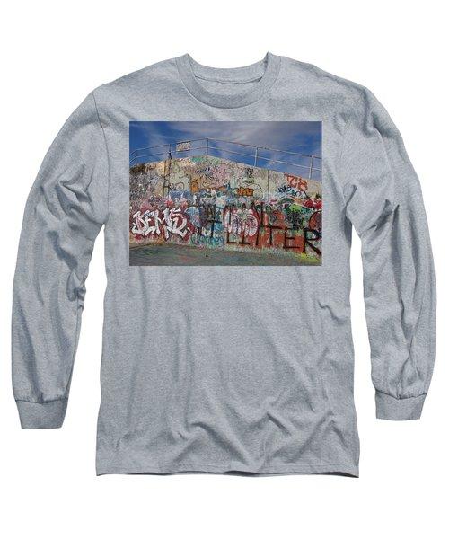 Graffiti Wall Long Sleeve T-Shirt
