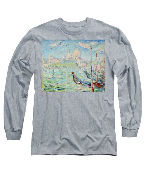 Grand Canal Venice Long Sleeve T-Shirt by Pierre Van Dijk