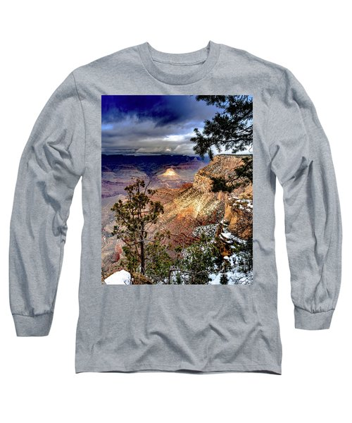 Grand Canyon In Winter Long Sleeve T-Shirt