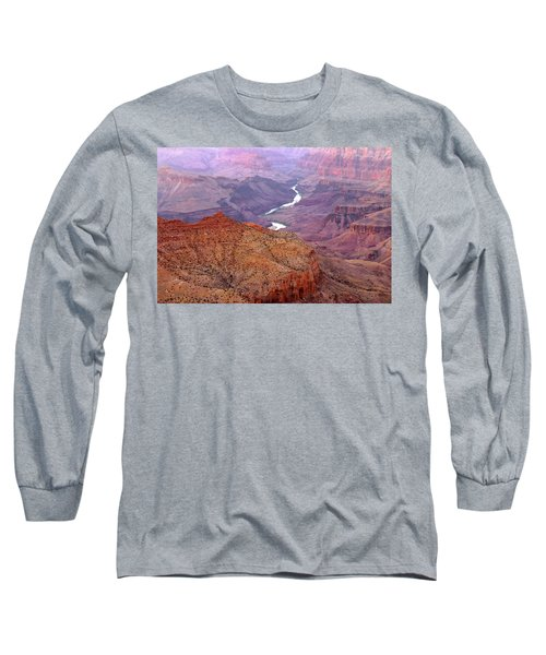 Grand Canyon River View Long Sleeve T-Shirt