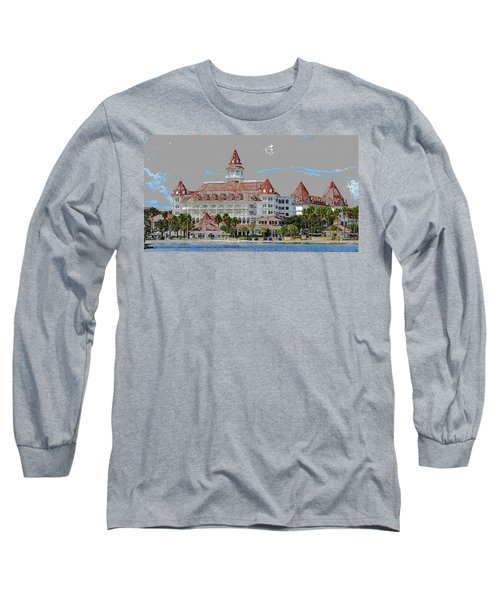 Grand Floridian In Summer Long Sleeve T-Shirt