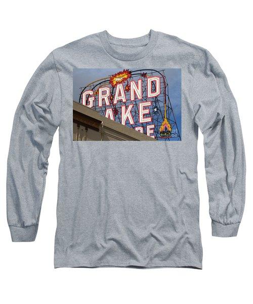 Grand Lake Theatre . Oakland California . 7d13495 Long Sleeve T-Shirt