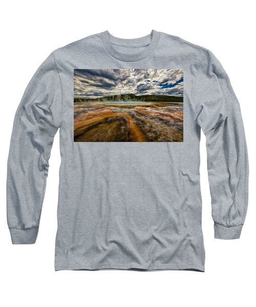 Grand Prismatic Spring Long Sleeve T-Shirt
