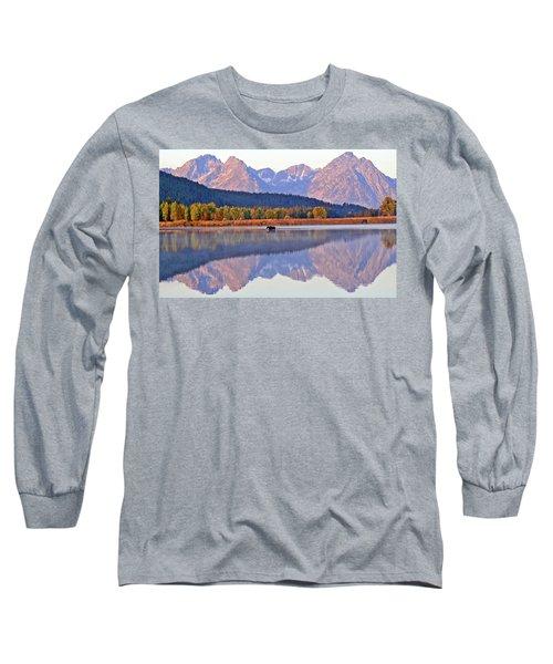 Grand Reflections Long Sleeve T-Shirt by Scott Mahon