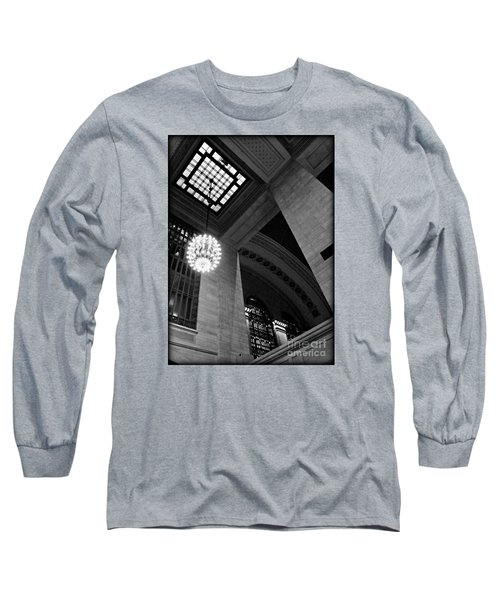 Grandeur At Grand Central Long Sleeve T-Shirt