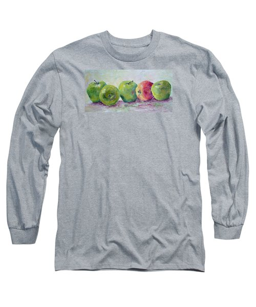 Grannie Smiths And A Gala Long Sleeve T-Shirt