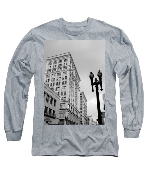 Grant Avenue Long Sleeve T-Shirt by Mark Barclay