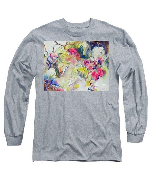 Grapes In Season Long Sleeve T-Shirt