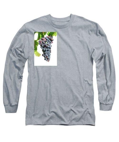 Grapes On Vine Long Sleeve T-Shirt