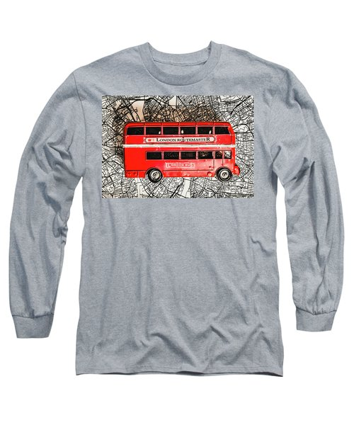 Graphic Of Great Britain Long Sleeve T-Shirt