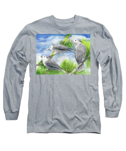 Gray Jays Trio Long Sleeve T-Shirt