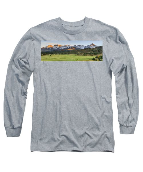 Grazing Under Sneffels Long Sleeve T-Shirt