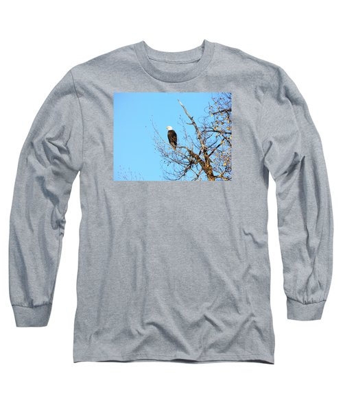 Great American Bald Eagle Long Sleeve T-Shirt