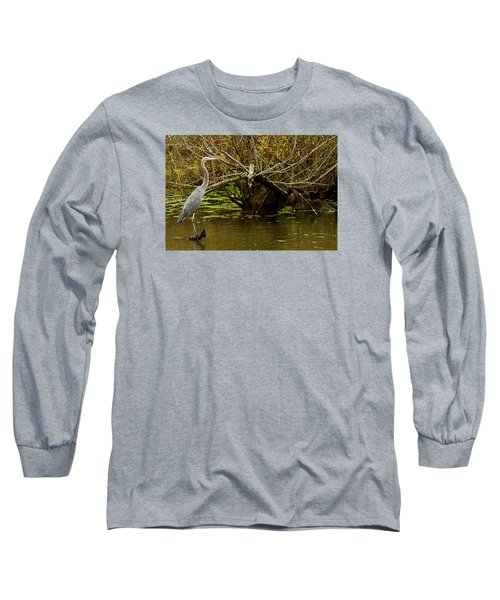 Great Blue Long Sleeve T-Shirt