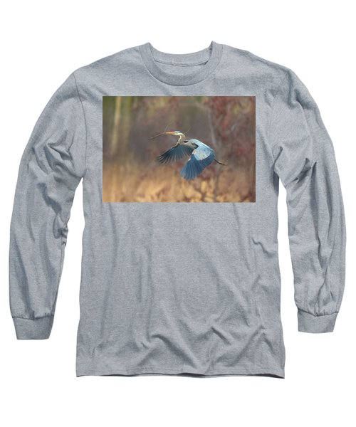 Great Blue Long Sleeve T-Shirt