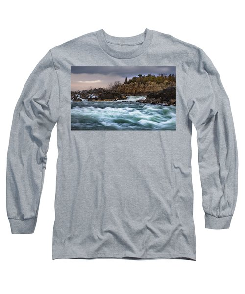 Great Falls Virginia Long Sleeve T-Shirt