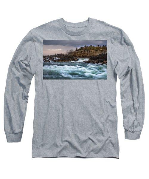 Great Falls Virginia Long Sleeve T-Shirt