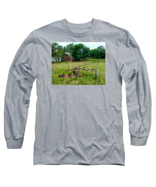 Great Grandpa's Plow Long Sleeve T-Shirt