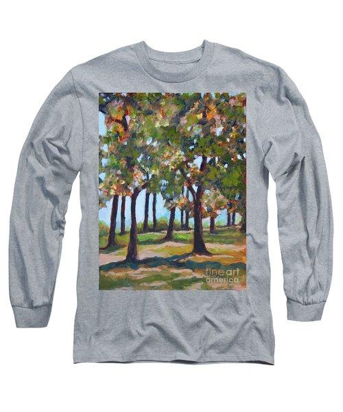 Great Outdoors Long Sleeve T-Shirt by Jan Bennicoff