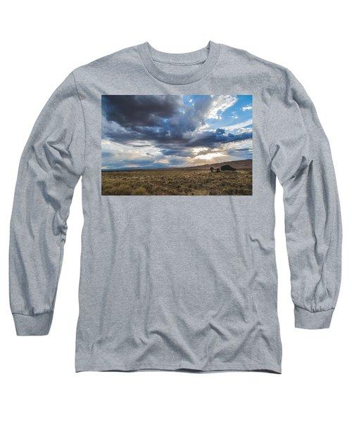 Great Sand Dunes Stormbreak Long Sleeve T-Shirt