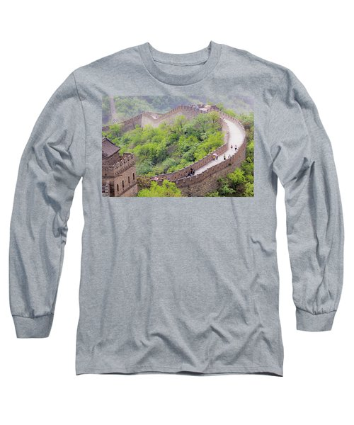 Great Wall At Badaling Long Sleeve T-Shirt