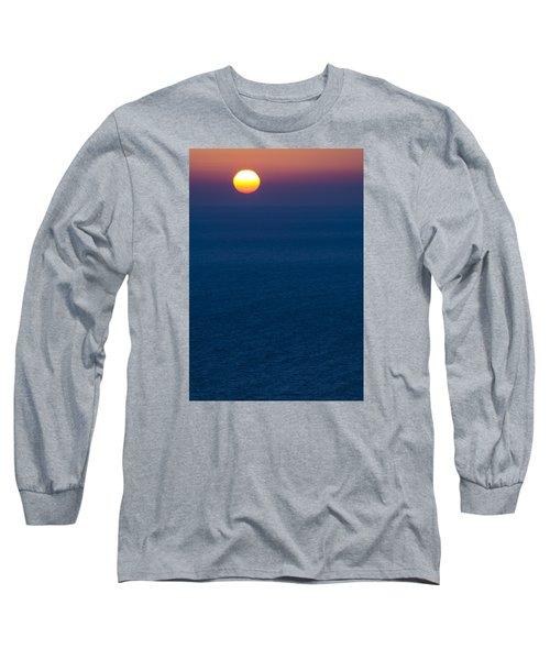 Greek Sunset Long Sleeve T-Shirt by Rainer Kersten