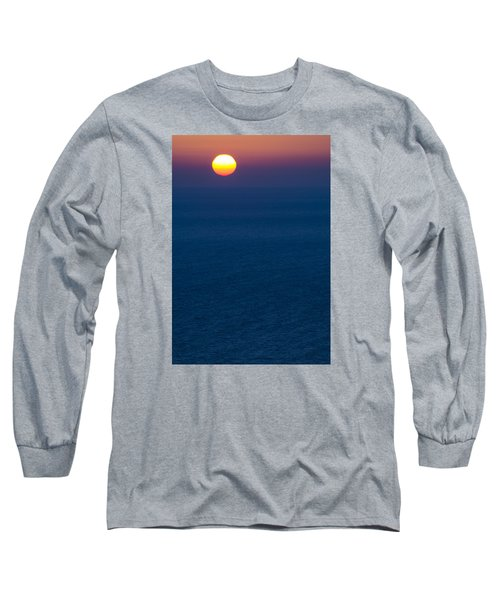 Greek Sunset Long Sleeve T-Shirt