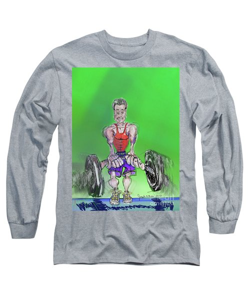 Green At Work Out West Long Sleeve T-Shirt