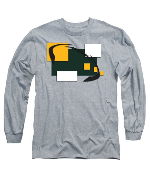 Green Bay Packers Abstract Shirt Long Sleeve T-Shirt