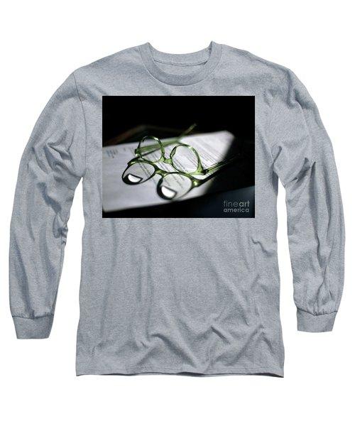 Green Eyes Long Sleeve T-Shirt
