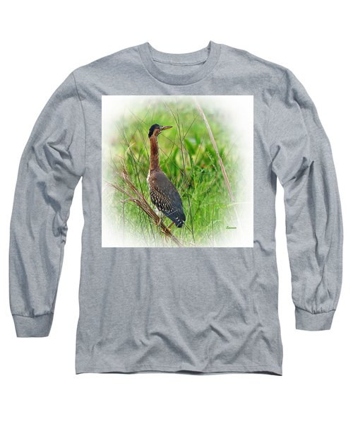 Green On Green Long Sleeve T-Shirt