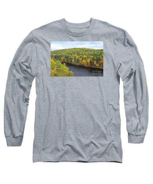 Green Mixture Long Sleeve T-Shirt
