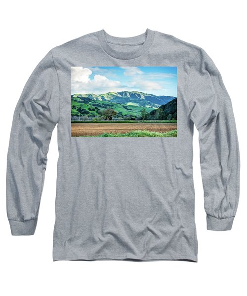 Green Mountains Long Sleeve T-Shirt