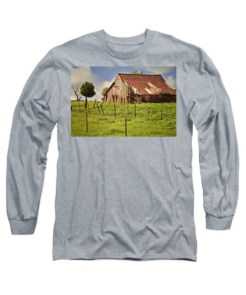 Long Sleeve T-Shirt featuring the photograph Green Pastures by Lana Trussell