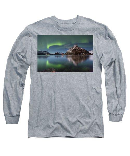 Green Reflection Long Sleeve T-Shirt