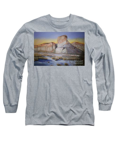 Green River Wyoming Long Sleeve T-Shirt by Marlene Book